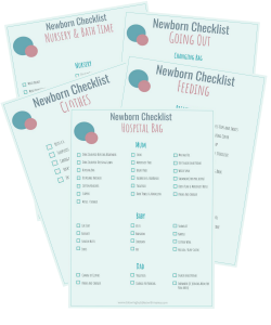 Newborn Essentials Checklist Bundle