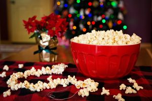 Popcorn and Christmas Tree Christmas Traditions