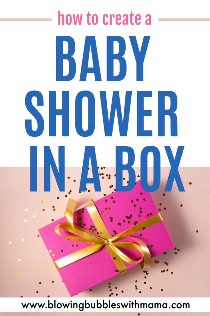 How to Create a Baby Shower in a Box