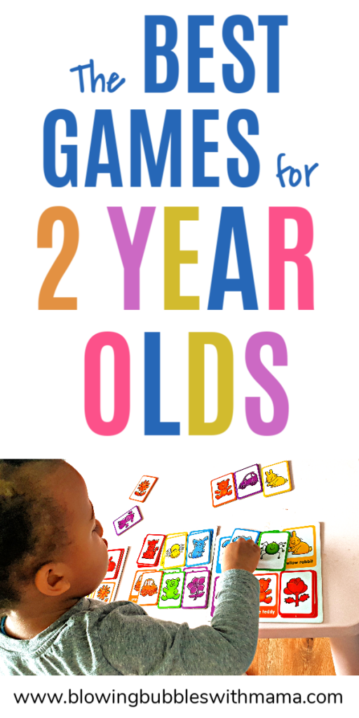 The Best Games for 2 Year Olds