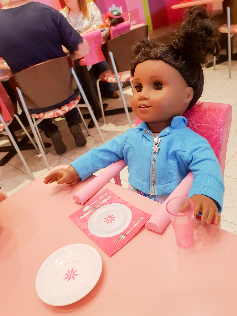Doll at Table