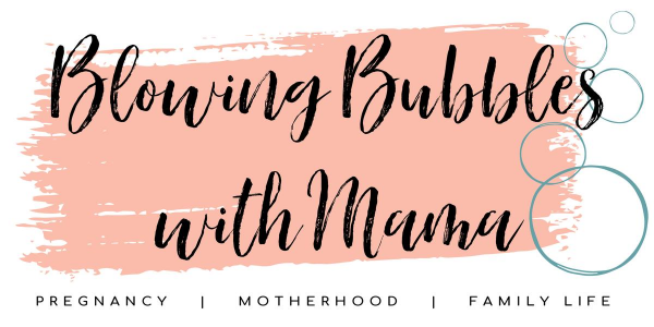 Blowing Bubbles with Mama Logo